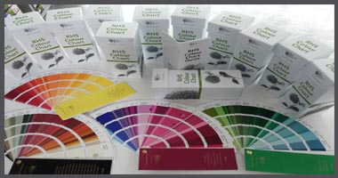 RHS Color Chart - New Sixth Edition in 2015